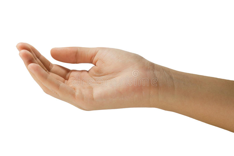 Download Closed-up Palm Up Stock Image - Image: 25476331