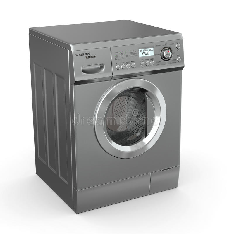 Download Closed washing machine stock illustration. Image of three - 21695550
