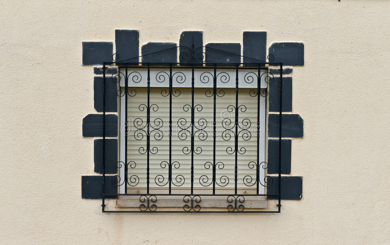 Download Closed Window stock photo. Image of facade, metal, home - 19506316