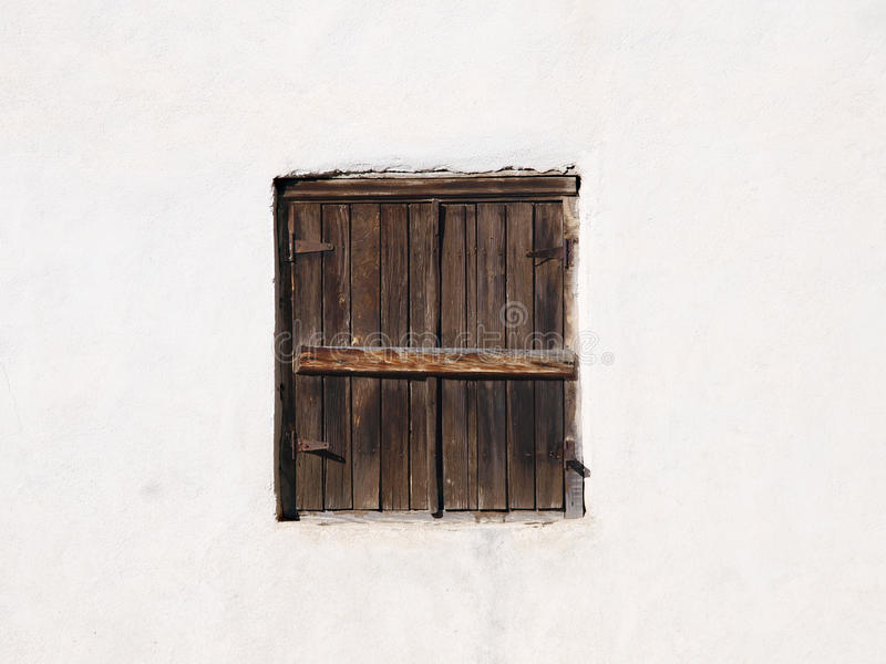 Download Closed window stock photo. Image of wooden, brown, wall - 21925190