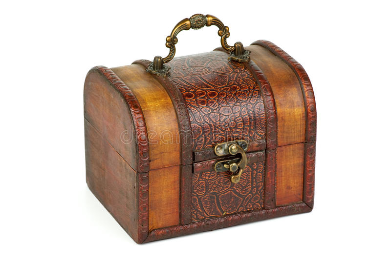 Download Closed Wooden Chest Royalty Free Stock Photo - Image: 15808835