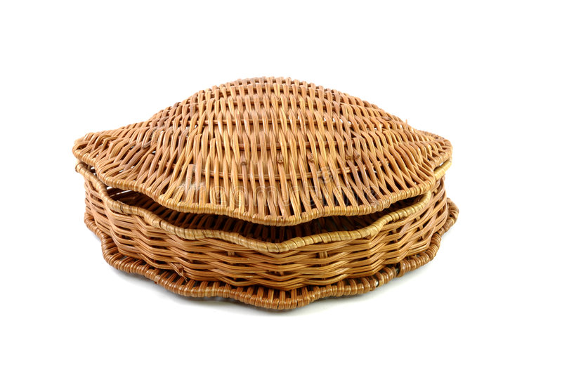 Download Closed woven basket stock photo. Image of distribution - 9101068