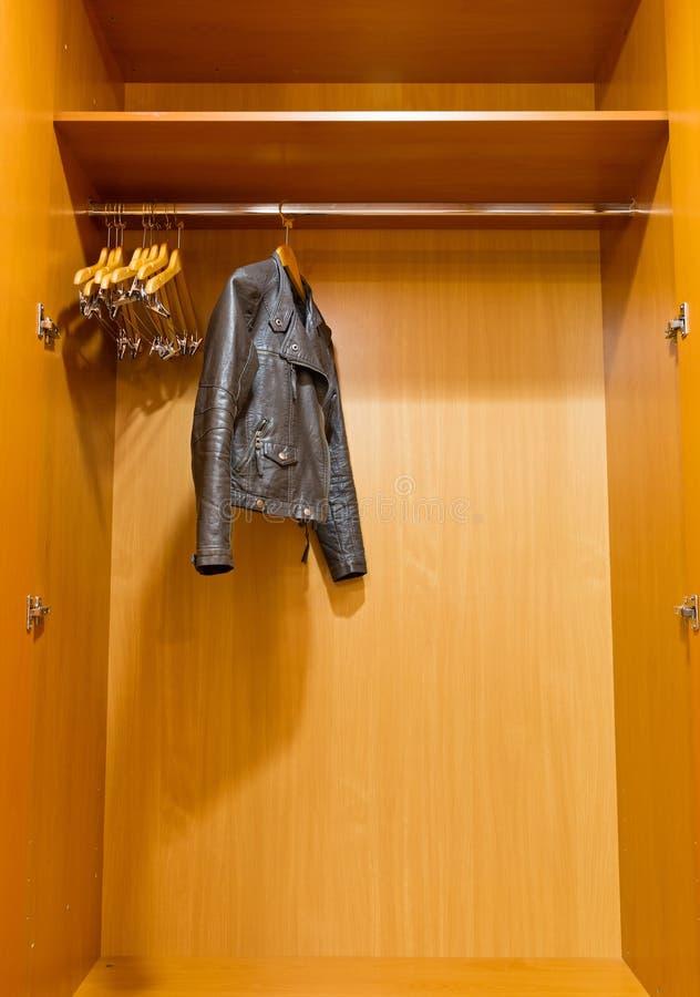 Download Closet Leather Jacket Stock Photo. Image Of Freedom, Background    28452224
