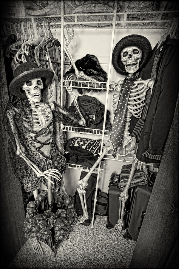 Download Closet Skeletons Stock Images - Image: 34156094