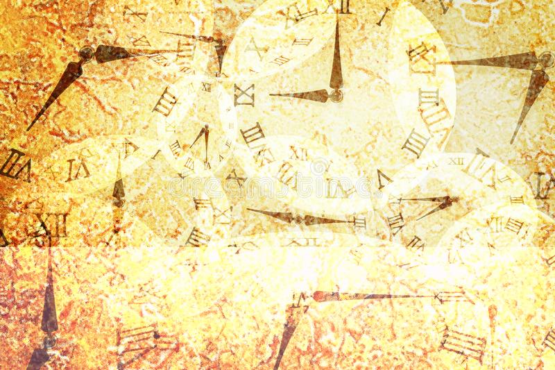 Download Closeup Surface Abstract Pattern By Many Clock On Retro Yellow Marble Floor Textured Background Stock Photo - Image of clock, marble: 106687546
