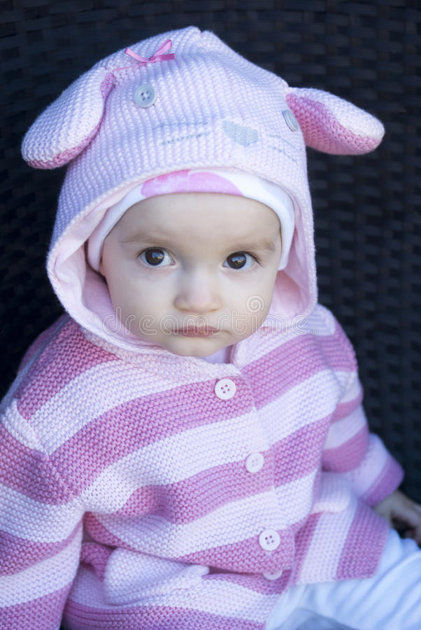 Download Cute baby sitting stock image. Image of daytime, close - 30151559