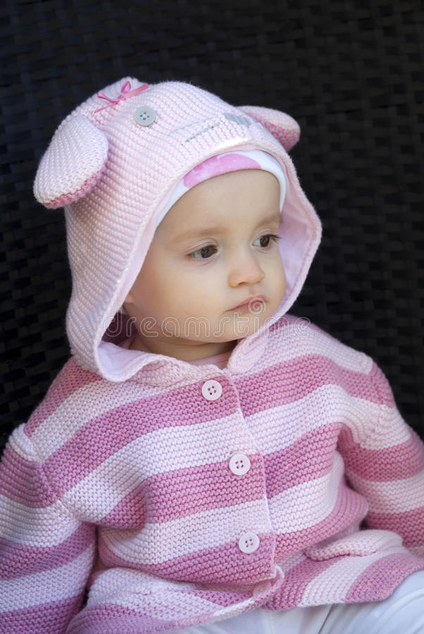 Download Cute baby sitting stock image. Image of girl, little - 30151675