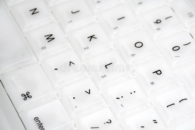 Download Closeup Of Apple IBook Keyboard Royalty Free Stock Photo - Image: 196005