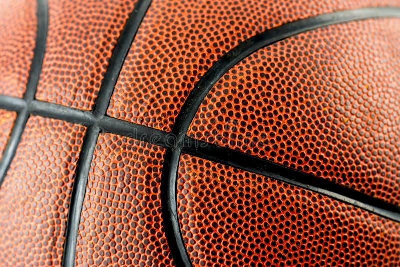 Closeup av basketsportutrustning royaltyfria foton