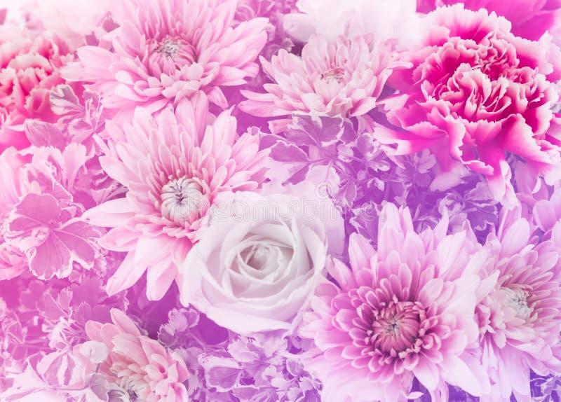 Closeup av den härliga blomman för att gifta sig arkivfoto