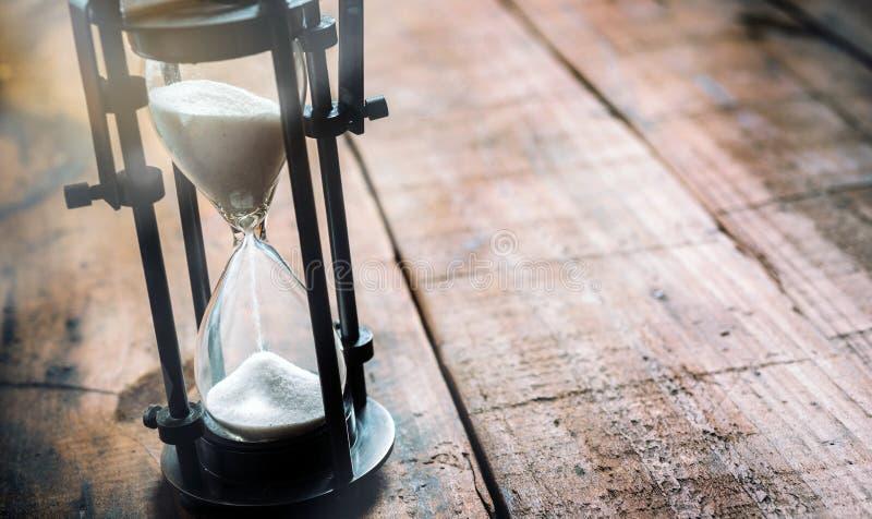 Closeup av ett timglas fotografering för bildbyråer