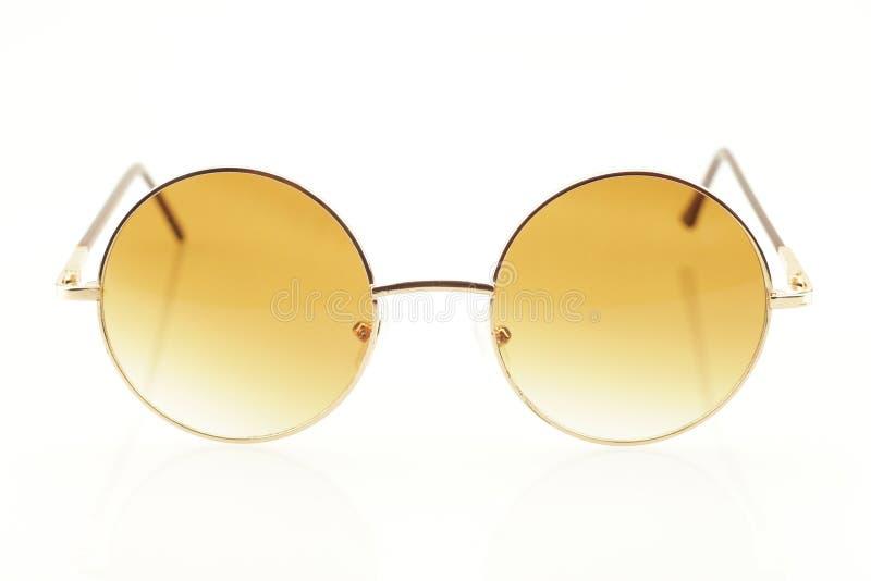 Closeup av glasögon fotografering för bildbyråer