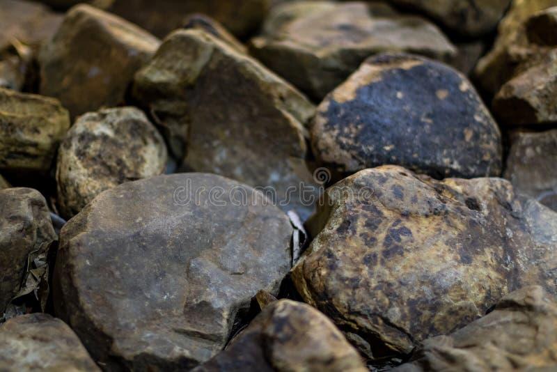 Closeup av rocks arkivfoto