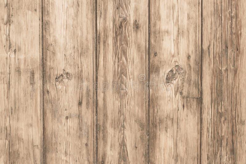 Closeup av träplankor, ljus textur för dekorativ design Tom tabellbakgrund Tomt utrymme Trägrungemodell Tappning f arkivbilder