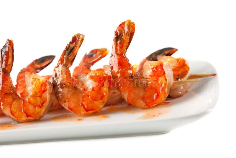 Download Closeup Of BBQ Shrimp Skewers Stock Photo - Image: 12133084