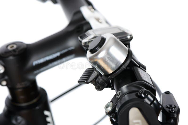 Closeup of bike bell stock photo