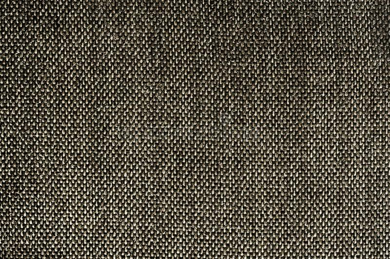 Closeup Black Color Synthetic Fabrics Texture - Pattern Design stock image