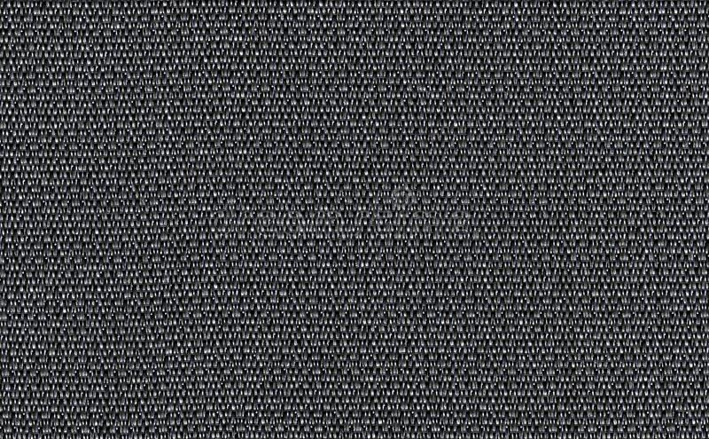 Closeup black ,dark grey color fabric sample texture backdrop. Dark grey fabric strip line pattern design,upholstery for decoratio. N interior design or abstract royalty free stock photo
