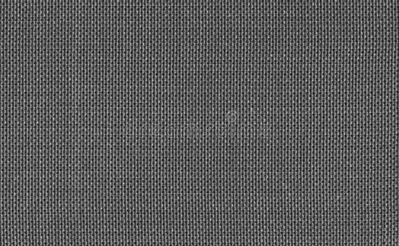 Closeup black or dark grey colors fabric sample texture backdrop.Black color strip line fabric pattern design or upholstery abstra. Ct background royalty free stock photography