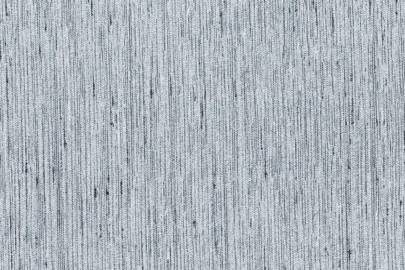 Closeup black and white or light grey colors fabric sample texture backdrop.Light Grey strip line fabric pattern design or upholst royalty free stock image