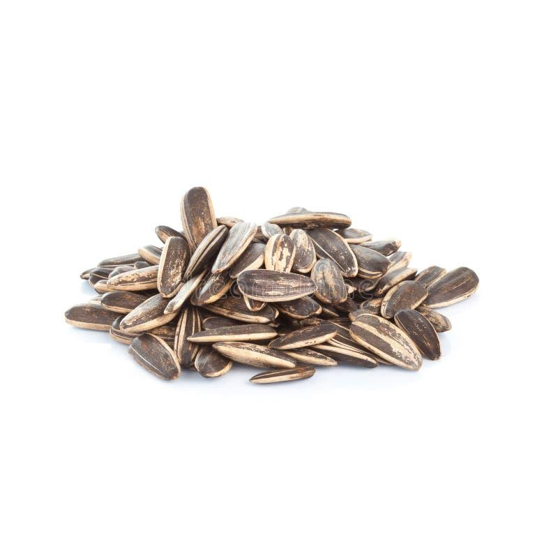 Closeup of boil peanut thai style on white background. Closeup of boil peanut on white background stock images