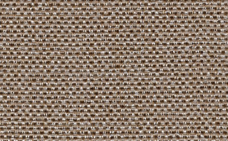 Closeup brown color fabric texture. Strip line brown fabric pattern design or upholstery abstract background. Closeup brown color fabric texture.Strip line royalty free stock image