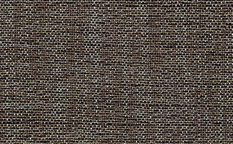 Closeup brown with white color fabric sample texture backdrop.Brown fabric strip line pattern design,upholstery,textile for decora. Tion interior design or stock photo