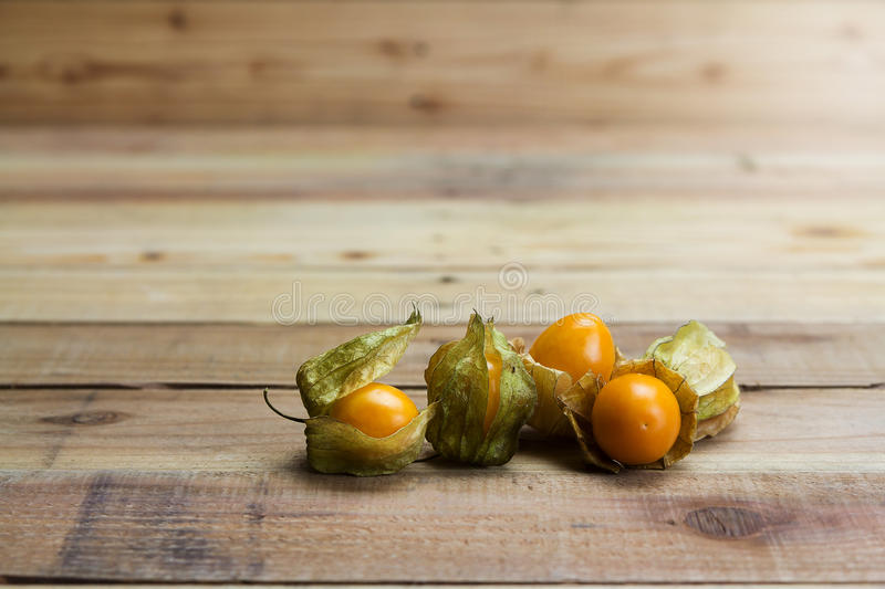 Closeup Cape gooseberry stock photos
