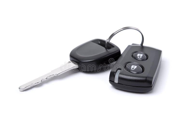 Closeup of car key stock photo