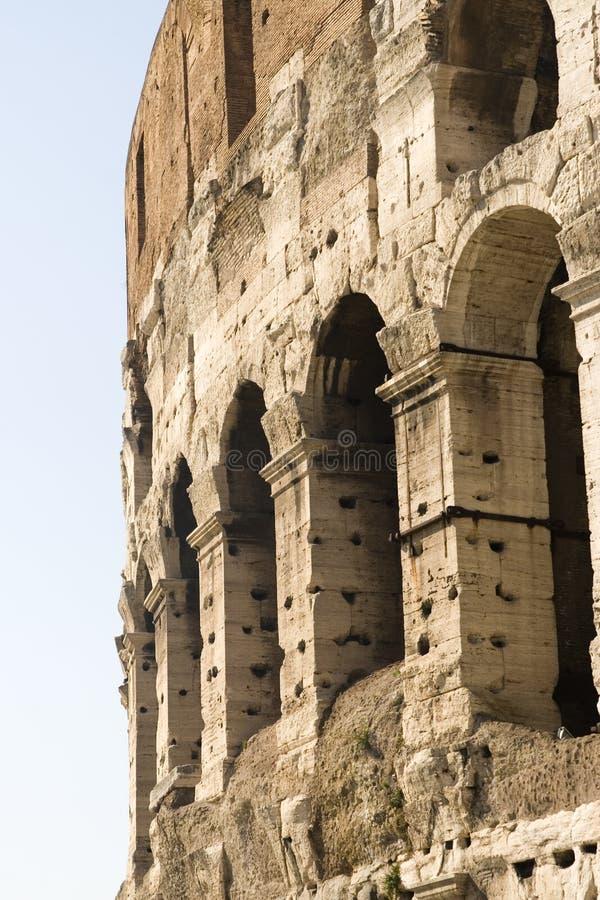 Closeup Of Coliseum Stock Image