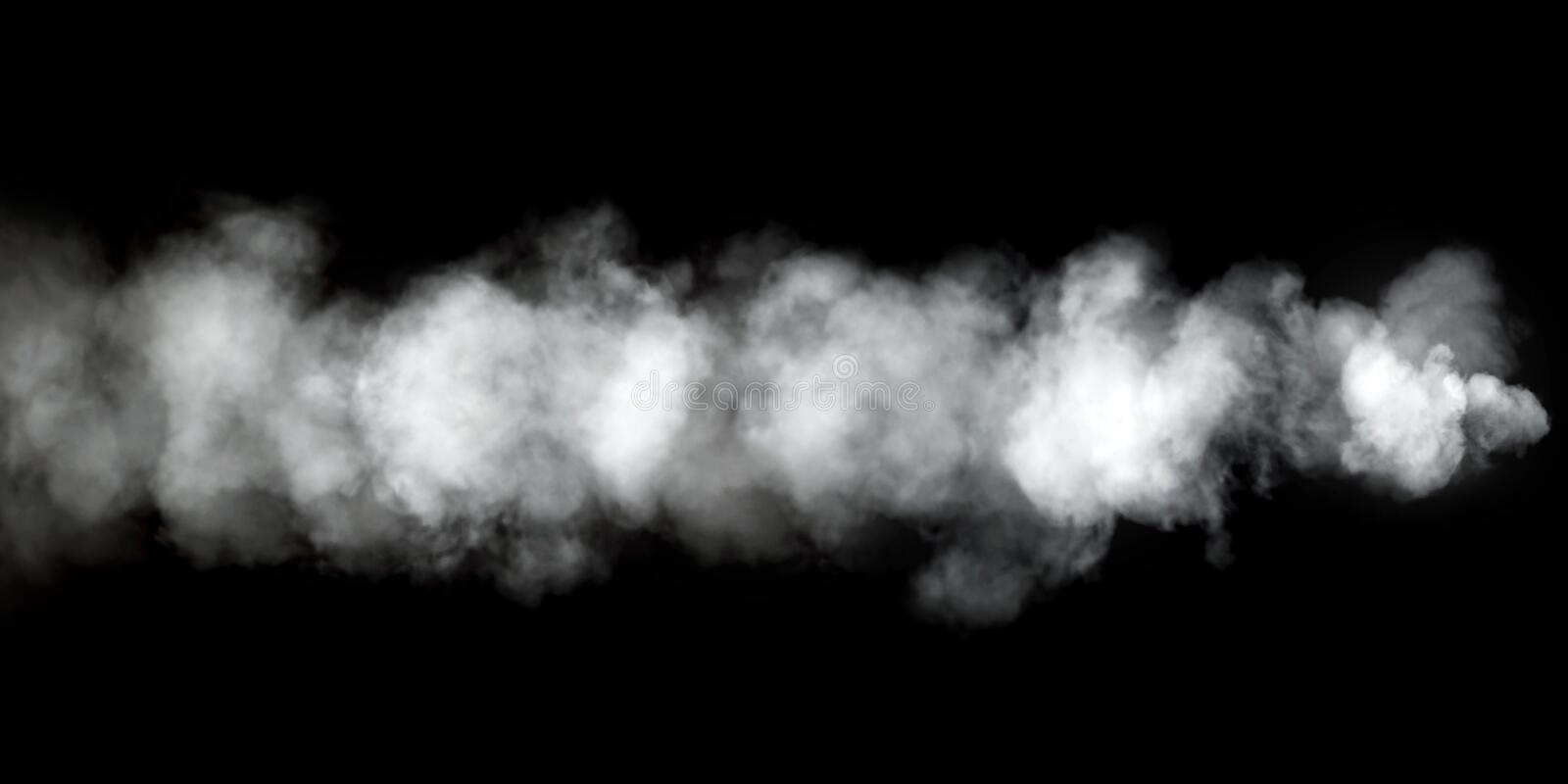 Closeup of colorful abstract steam/smoke/ink texture background royalty free illustration