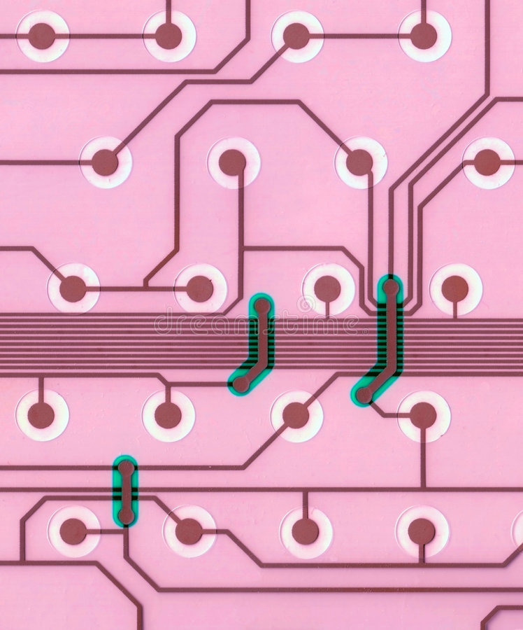 Download Closeup Of Computer Circuit Board Stock Image - Image: 5856255