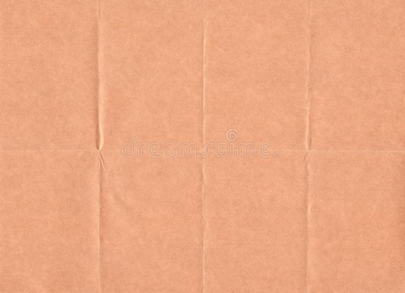 Closeup crumpled grunge brown paper texture background. Old Brown paper sheet with space for text ,pattern or .abstract ,vintage b stock photography
