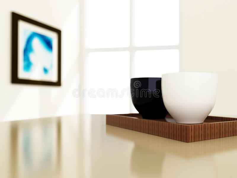 Download Closeup of cup style stock illustration. Image of illustration - 26160356