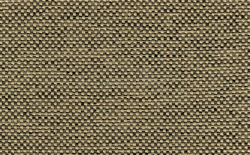 Closeup dark brown with black,green,khaki color fabric sample texture backdrop.Brown fabric strip line pattern design,upholstery,t. Extile for decoration royalty free stock image