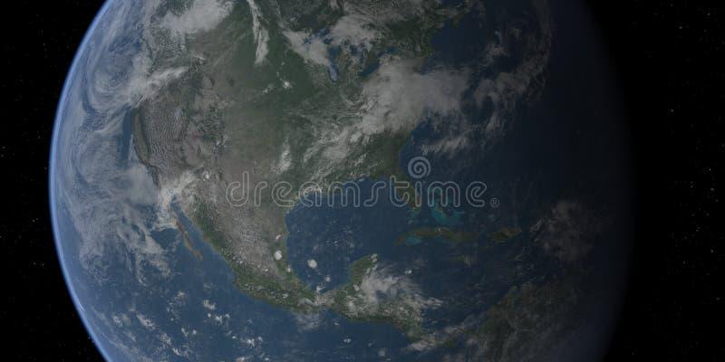 closeup earth usa ελεύθερη απεικόνιση δικαιώματος