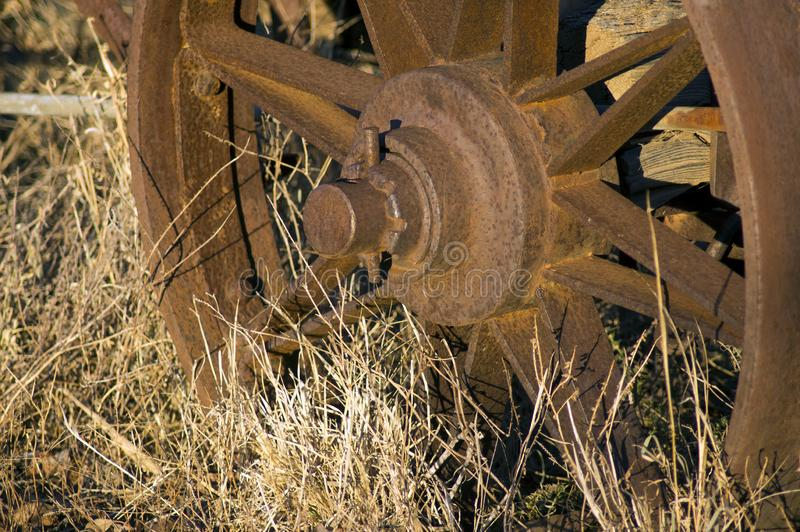 Closeup eller abstrakt tagande på tappningvagnen arkivbilder