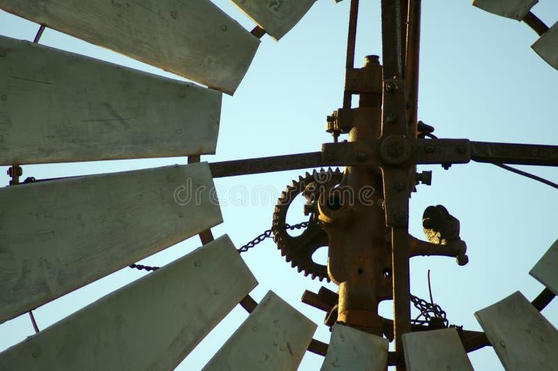 Closeup eller abstrakt tagande på väderkvarnen arkivfoton