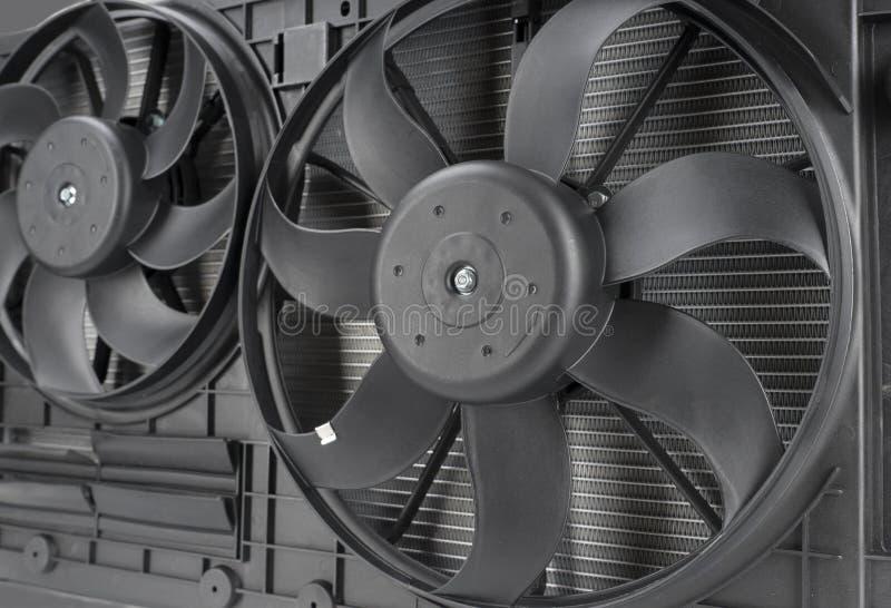 closeup för bilelementfan arkivfoto