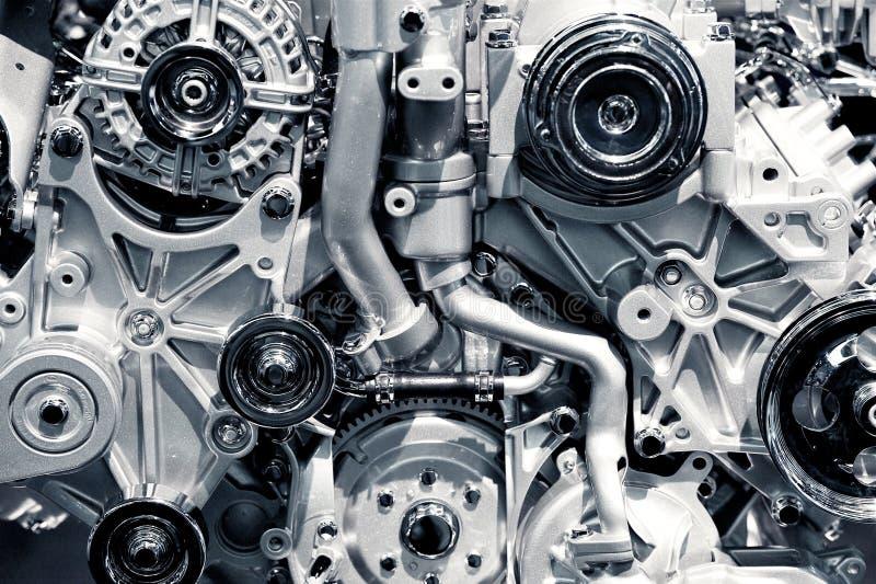 Closeup för gasmotor royaltyfri foto