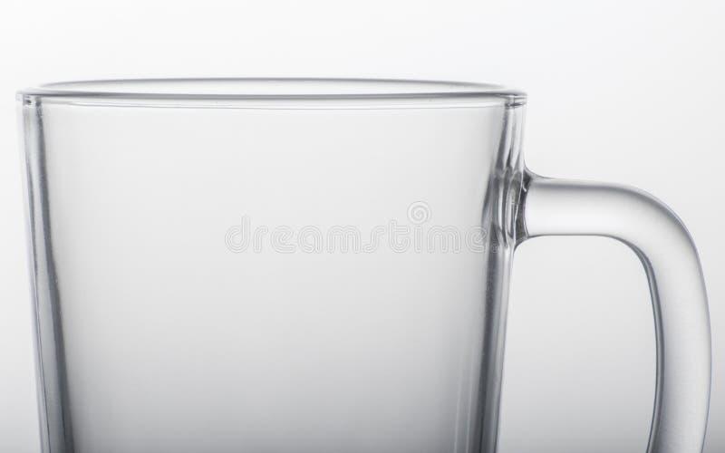 Closeup för stort behandlat exponeringsglas arkivbilder