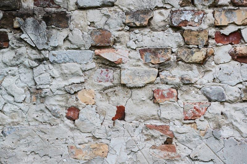 Closeup för tegelstenvägg arkivbilder
