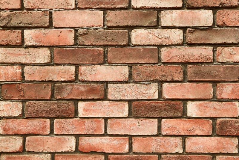 Closeup för tegelstenvägg arkivbild