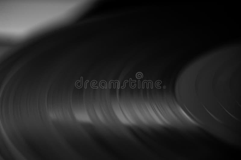 Closeup för vinylrekord arkivbilder