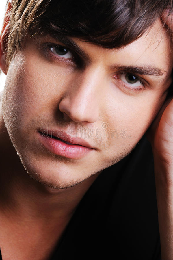 Download Closeup Face Of A Confident Handsome  Man Royalty Free Stock Images - Image: 11693829