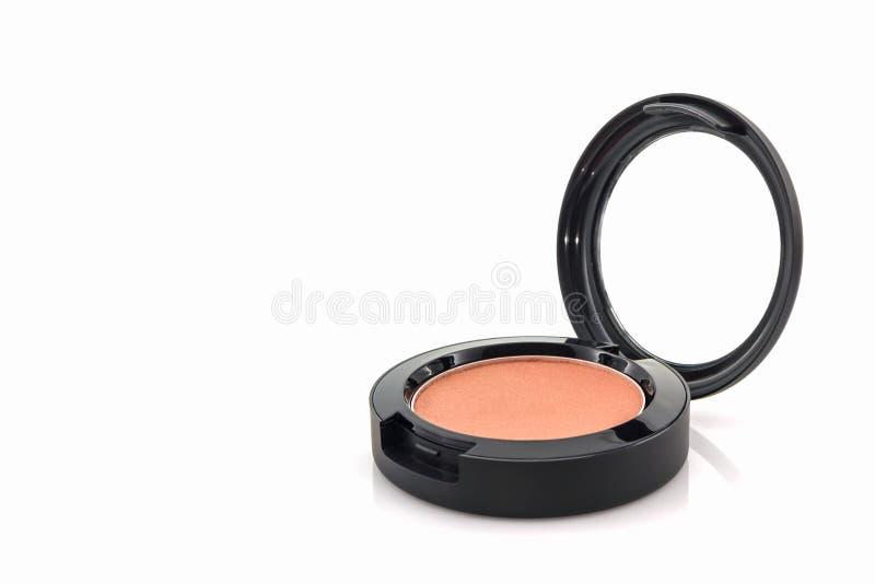 Closeup of face powder. stock image