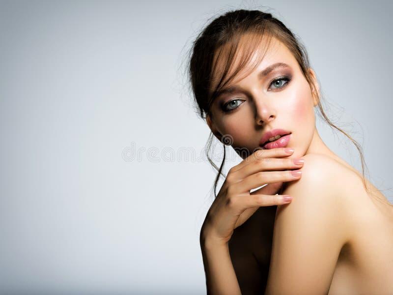 Woman girl photo