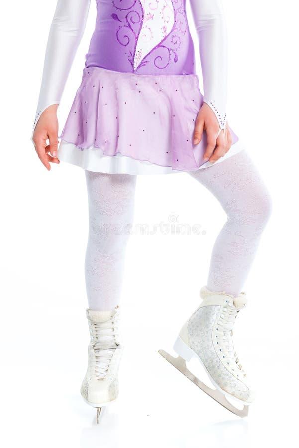 Download Closeup Of Figure Skating Ice Skates Stock Illustration - Image: 24179171