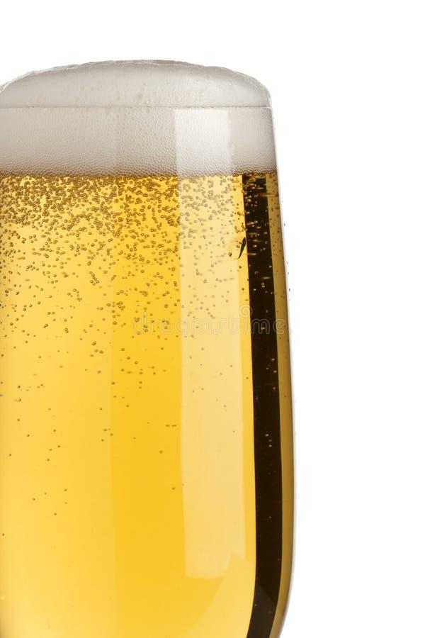 Closeup of fresh draught beer stock photos