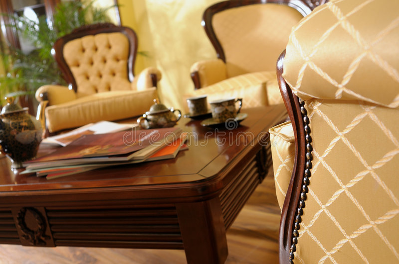 Download Closeup With Furniture Details Stock Photo - Image: 9149856